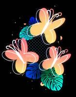 Synthwave Fluttershy Cutie Mark by II-Art