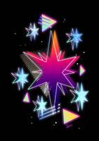 Synthwave Twilight Sparkle Cutie Mark by II-Art