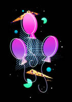 Synthwave Pinkie Pie Cutie Mark by II-Art