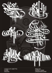 Calligraphy or tagging by ALSQUAD