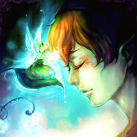 something magical - peter pan by AngeliciousO3O