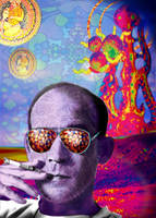 Psychedelic Gonzo by mery-hippie-gonzo