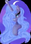 Lunar Pony by MelodySArtist