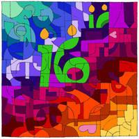 Happy 16th by ClowderOrigins