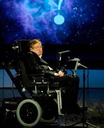 Stephen Hawkings RIP by GameDemonKing