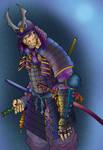 samurai by tintasmagazine