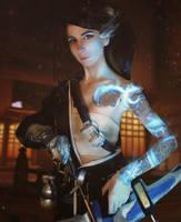 [COSPLAY] Overwatch - fem!Hanzo (2) by MyFuckingGod