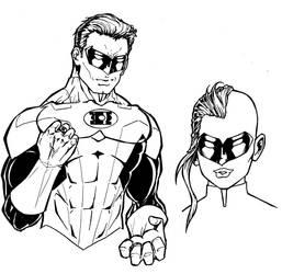 Green Lantern Concept Art by ReeceFriesen