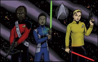 Star Trek Wars by ReeceFriesen