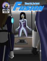 Fusion Issue 2 Cover by EssayBee