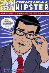 Clark Kent Pop Art by EssayBee