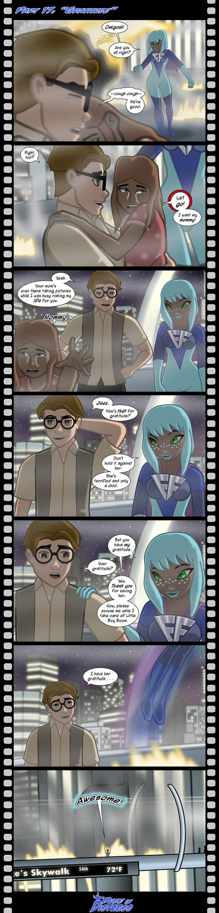 Dude in Distress Preview (Strip 17) by EssayBee