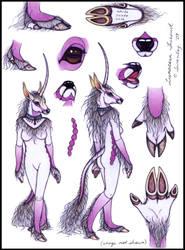Lunacorn Fursuit--Updated by swandog