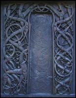 Urnes Knotwork by swandog