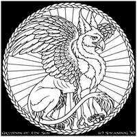 Gryphon of the Sun by swandog