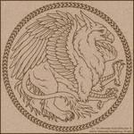 Griffin Box Logo II by swandog