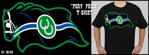 'Pony Pride' t-shirt design by swandog