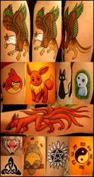 Fandom 'Tattoos' at Desucon 6 by swandog