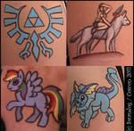 Fandom 'Tattoos' at Coscon 2 by swandog