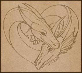 Dragonkin Love by swandog