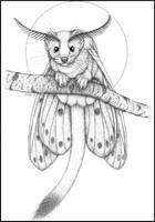 Inktober #2: Ermine Moth by swandog