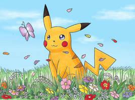 Pikachu by Zorza-6