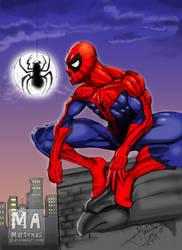 spiderman by martenas