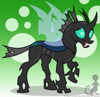 Thorax The changeling by Elsdrake