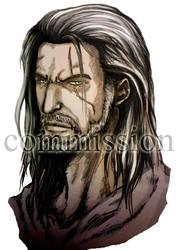 Geralt de Rivia (Witcher 3) by BeliharuArt