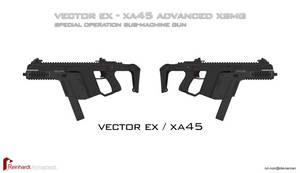 XA45 Vector EX XSMG by Rxl-Noir