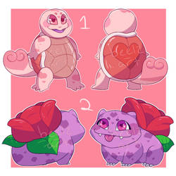 Valentines Pokemon Adopts Page 1 [1/2 OPEN] by Gumsh00s