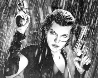 Resident Evil: Alice by GreyDragonne