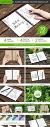 Sketchbook Photo Mock-up by upmockup