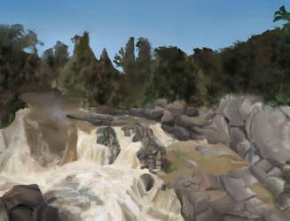 Waterfall by darnheck