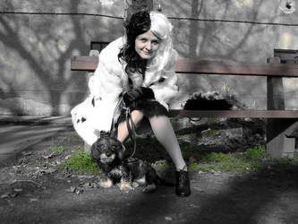 Cruella deVil and Teyla 2 by Lonaaya
