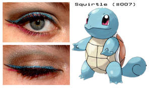 PokeMakeup 007 Squirtle by nazzara
