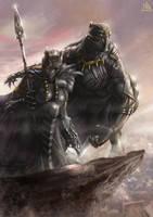 Black panther by blouson