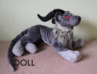 Vruuaska demon plush by dot-DOLL