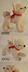 Prototype Puppy Plush for Tutorials by dot-DOLL