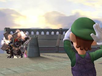 Luigi Saves the Day by JapanEyedPinoy