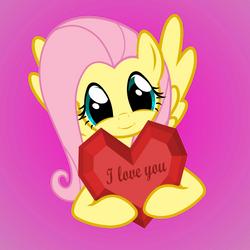 Fluttershy loves you by GAlekz