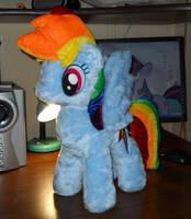 Rainbow Dash Plushie by GAlekz