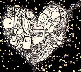 It's a heart world. by JubliantTroo