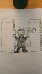 FROLLO SMASH!!!! by Mezzie1994