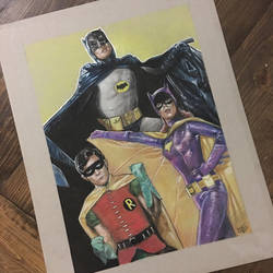 Batman 66 by Mantroon