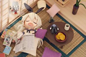 Sleepy Shimakaze~ by vince454