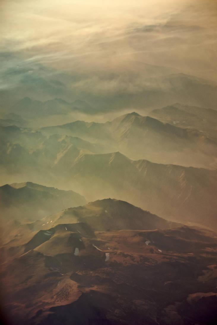Aerial Sierras by 0149