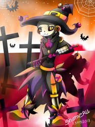 Witch Nectos (Nectober) by Shimeru15