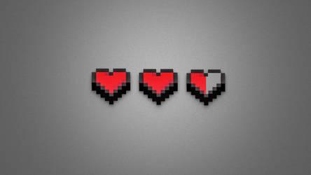 8 Bit Heart by JusticeBleeds