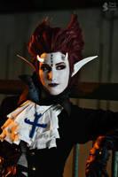 Genderbend Gecko Moria Cosplay by cloud-dark1470